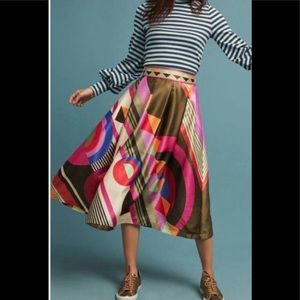 Gorgeous A-line skirt from Anthropologie. NWOT
